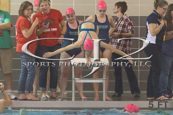 12-2-2016 Heritage at Woodgrove Swim Meet