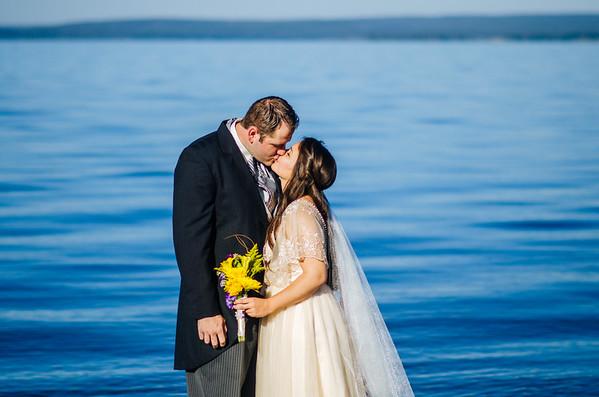 Yellowstone Lake Wedding