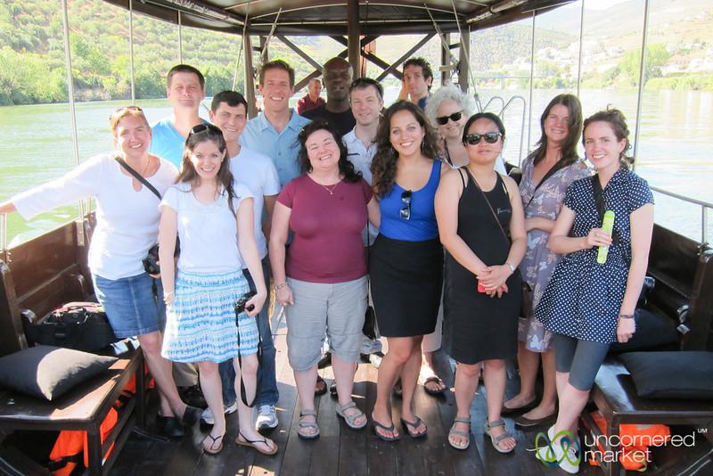 Douro River Boat Ride, Group Picture - Douro Valley, Portugal