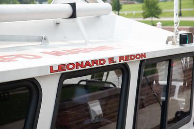 New Fire Boat Ribbon Cutting
