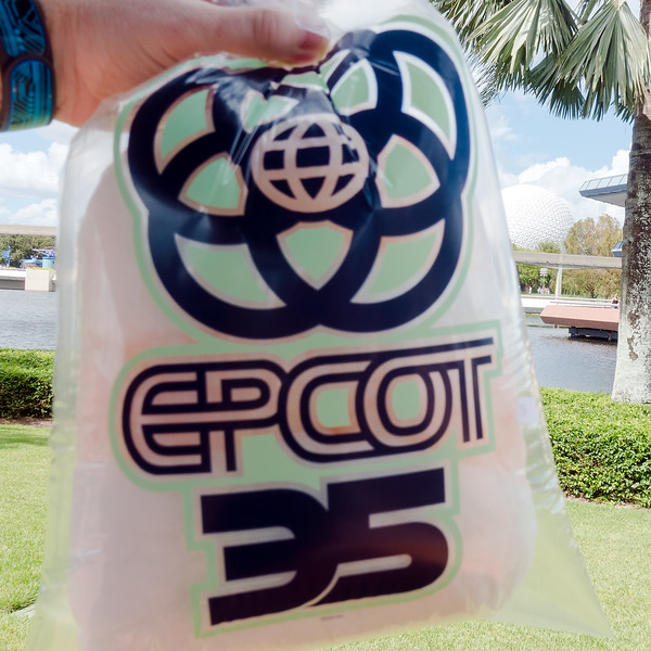 Epcot Legacy Showplace: L'Orange Cotton Candy