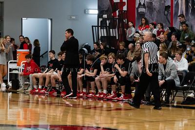 CCS Varsity Boys basketball vs Heritage Hall