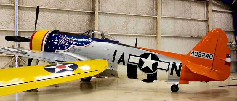 "The Republic P-47D, ""Thunderbolt"" -- probably America's best WW-II fighter"