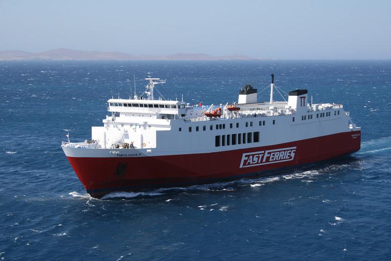 2009 - F/B THEOLOGOS P sailing in Aegean sea.
