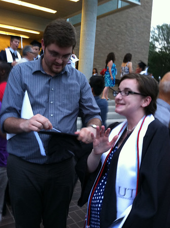 Fran's Graduation from UTAustin