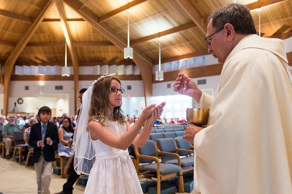 First Communion (10:30am Sunday Mass)