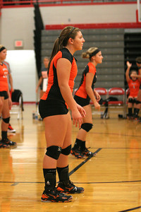 WHS vs Minford Volleyball 9-1-11