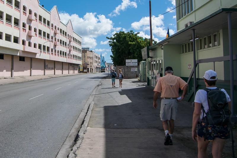 Barbados was very poor