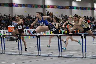 Girls 55m Hurdle Final