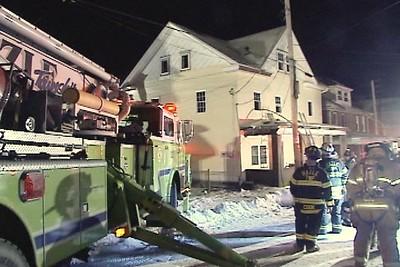 WEST HAZLETON STRUCTURE FIRE 2-28-2008
