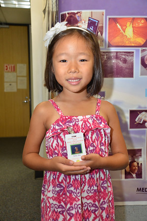 August 15, 2013 - Emily at Daddy's Bring Your Child to Work Day
