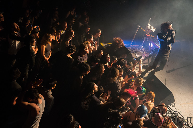 Psyclon Nine @ DNA Lounge, San Francisco, CA. May 2013