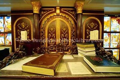 CHINA, Hong Kong. Kehilat Zion Synagogue, a.k.a. Hechal Ezra Synagogue (during reconstruction). (2007)