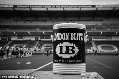 London Warriors vs London Blitz (Dave Files)