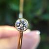.91ctw Old European Cut Diamond Twin Stone Bangle 5