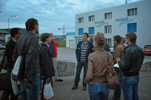 2013, Besuch InnoRecycling