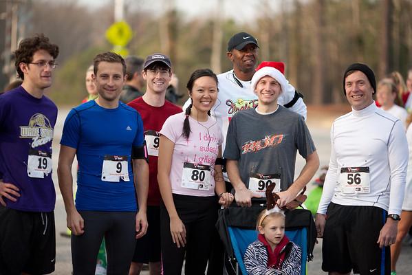 Jingle Bell Run 12/1/12