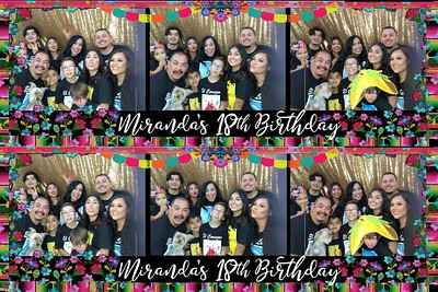 Miranda's 18th Fiesta
