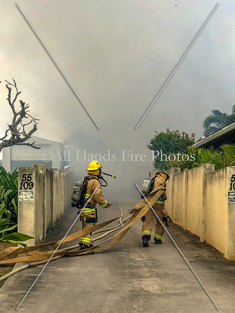 20190126 - Hawai'i - O'ahu - Laie - House Fire