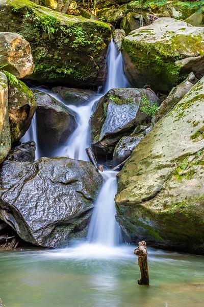 Waterfall Three Rocks