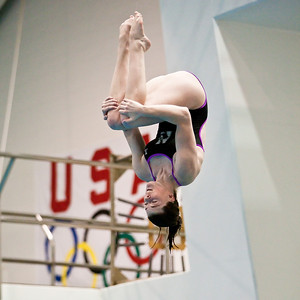 Northwestern Women's Swimming vs. Michigan 01-16-10 in Ann Arbor