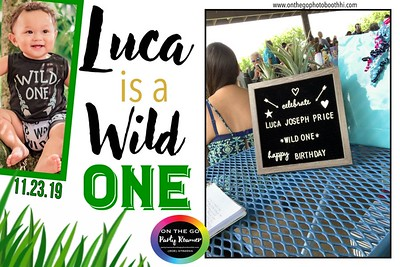 Happy 1st Birthday LUCA!