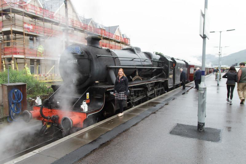 Jacobite Steam Train, Fort William - 11.jpg