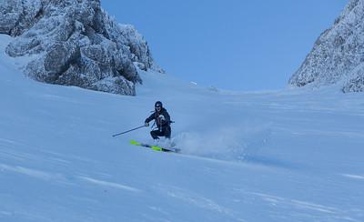 12 24 Skiing tour Begunjscica, Smokuski plaz
