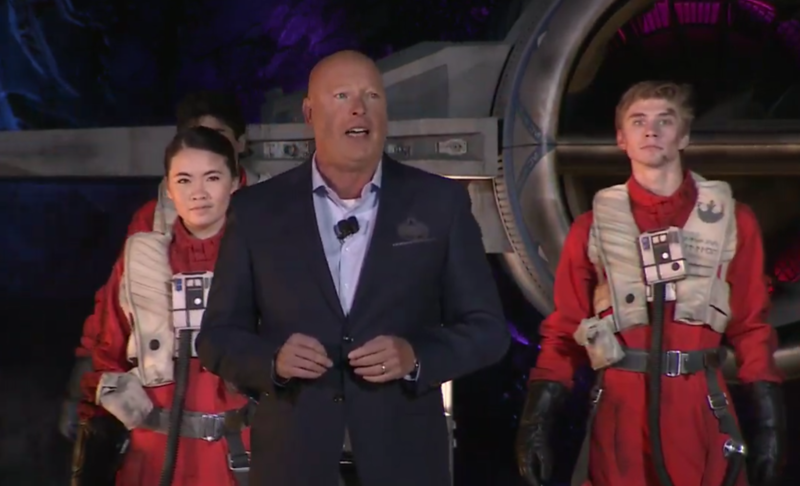 star wars galaxys edge rise of the resistance dedication ceremony (9)