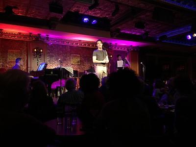 Musical Theatre 2018 Senior Showcase at Feinstein's 54 Below