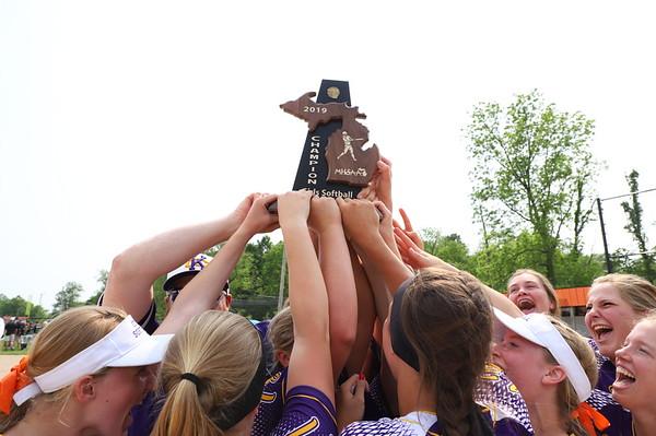Softball District Champions - KCHS 6/2/2019