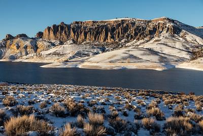 Blue Mesa Reservoir December 2020