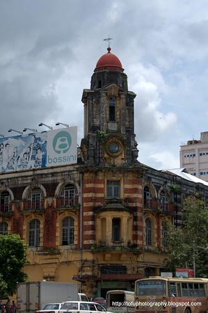 Downtown Yangon pt 2 - August 2010