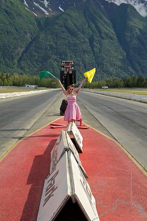 Alaska Raceway Park Flag Drags and Car Show 6/11/916