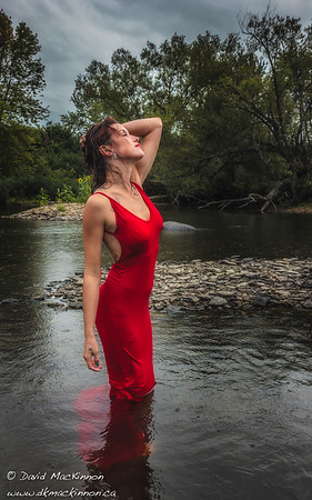 Wet in Red