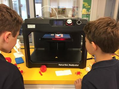 5th Grade - 3D printed Calder Mobiles