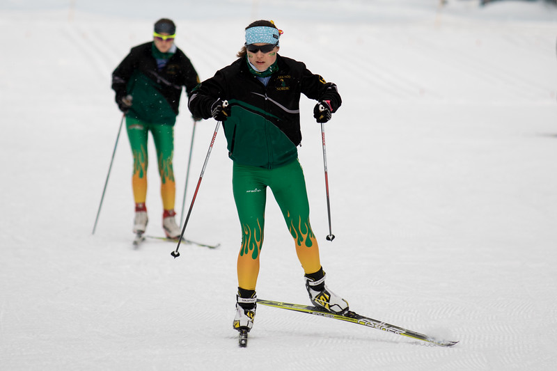 Clarkson Invitational in Lake Placid Sprint Relays 1/29/17