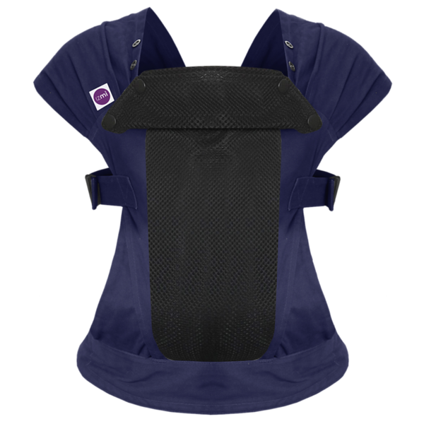 Izmi_Baby_Carrier_Cotton_Mid_Grey_Product_Ghost_Front.png