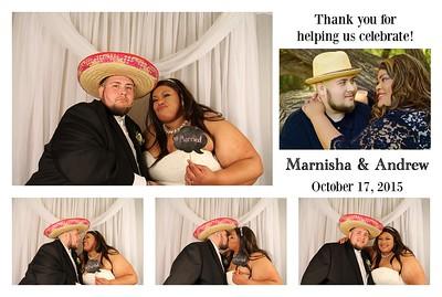 Marnisha & Andrew's Wedding Photo Booth