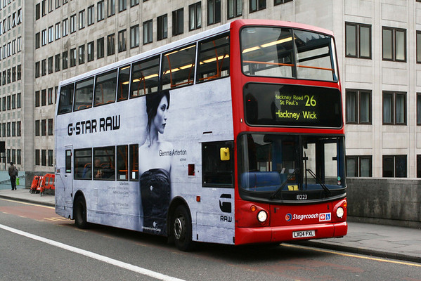 Advert and Special Livery Buses in London (Update 03.03.2019)