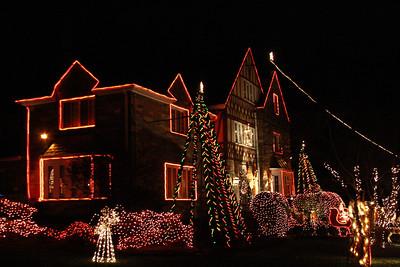 Christmas Lights - Bishop McCollough's House 12-29-11