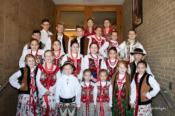 40 lecie Szkółki Pieśni i Tańca przy Zarządzie Głównym ZPPA