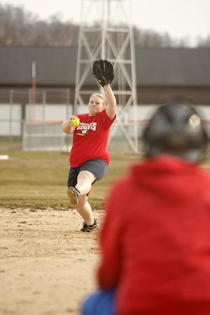 West Salem softball practice SB11