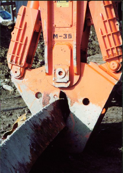 NPK M38K demolition shear on Komatsu excavator in Cleveland-steel cutting (4).JPG