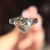0.94ct Antique Cushion Cut Diamond GIA K Sl1 12