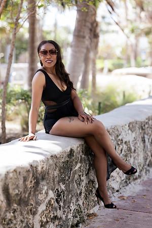 Rebecca Dupas Miami Beach Shoot