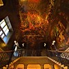 The Hell Staircase painted by Antonio Verrio