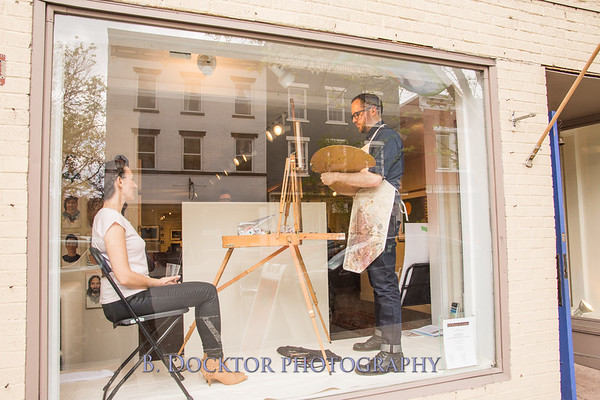 Carl Grauer opening at 510 Warren Street Gallery