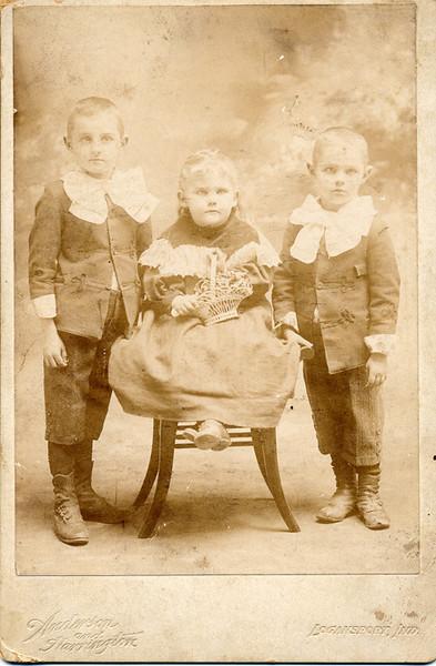 "William ""Bill"",  Margaret ""Maggie"", and Lavoyda Dodrill"