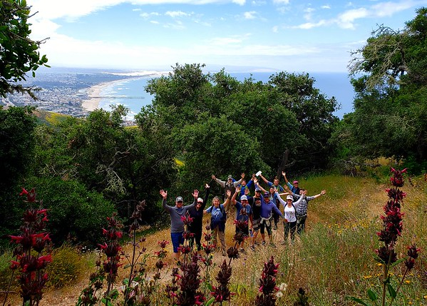 Ocean View School PTO Auction HIke at the Pismo Preserve